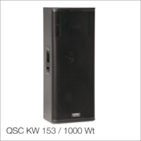 Активный топ QSC KW 153 / 1000 Wt