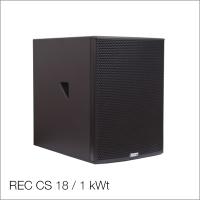 Пассивный сабвуфер REC CS 18 / 1 kWt